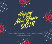 Une bonne et heureuse année 2018!